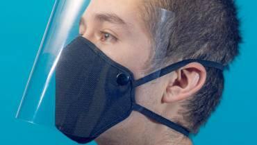 Mascarilla Lavable con Protector Facial