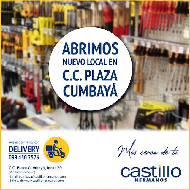 Nuevo Local en Cumbayá